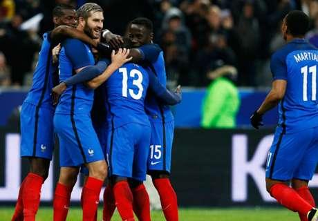 Francia goleó a Rusia