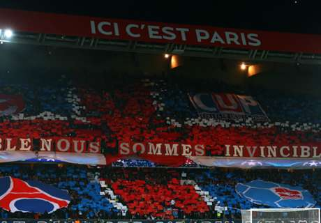 OM-PSG, les supporters au Bourget