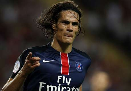 Cavani double sees of Monaco
