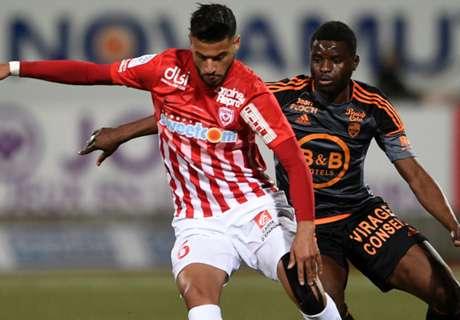 Nancy-Lorient 2-3, résumé de match