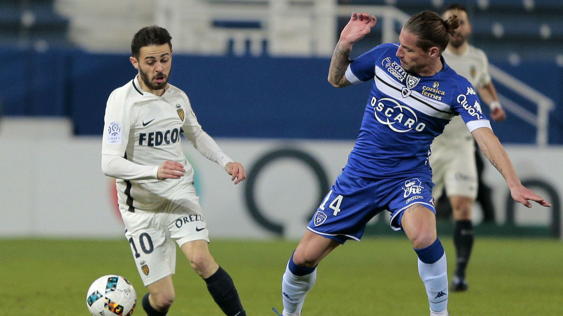 Ligue 1 : match nul du SC Bastia contre le leader Monaco