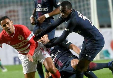 El PSG, desalojado en Túnez