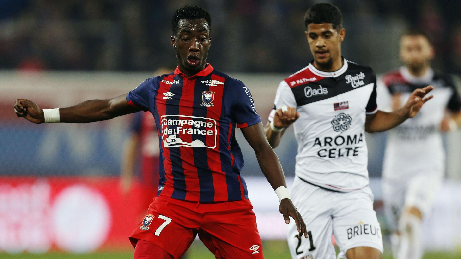 Yann Karamoh Caen Guingamp Ligue 1 26112016