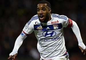 Alexandre Lacazette Lyon Saint-Etienne Ligue 1 08112015