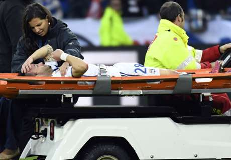 Valbuena absent trois semaines