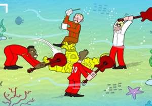 Quand les Beatles de Liverpool fracassent le sous-marin jaune pour accéder à la finale de l'Europa League..