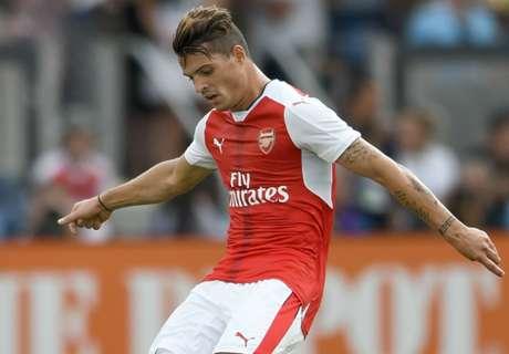TEAM NEWS: Xhaka starts for Arsenal