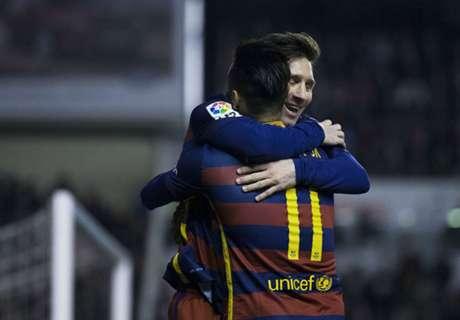 Neymar heredará el trono de Messi