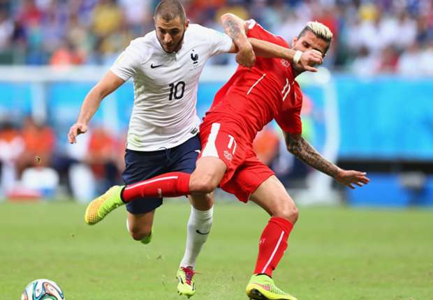 Francia tuvo el balón y las ocasiones ante Suiza