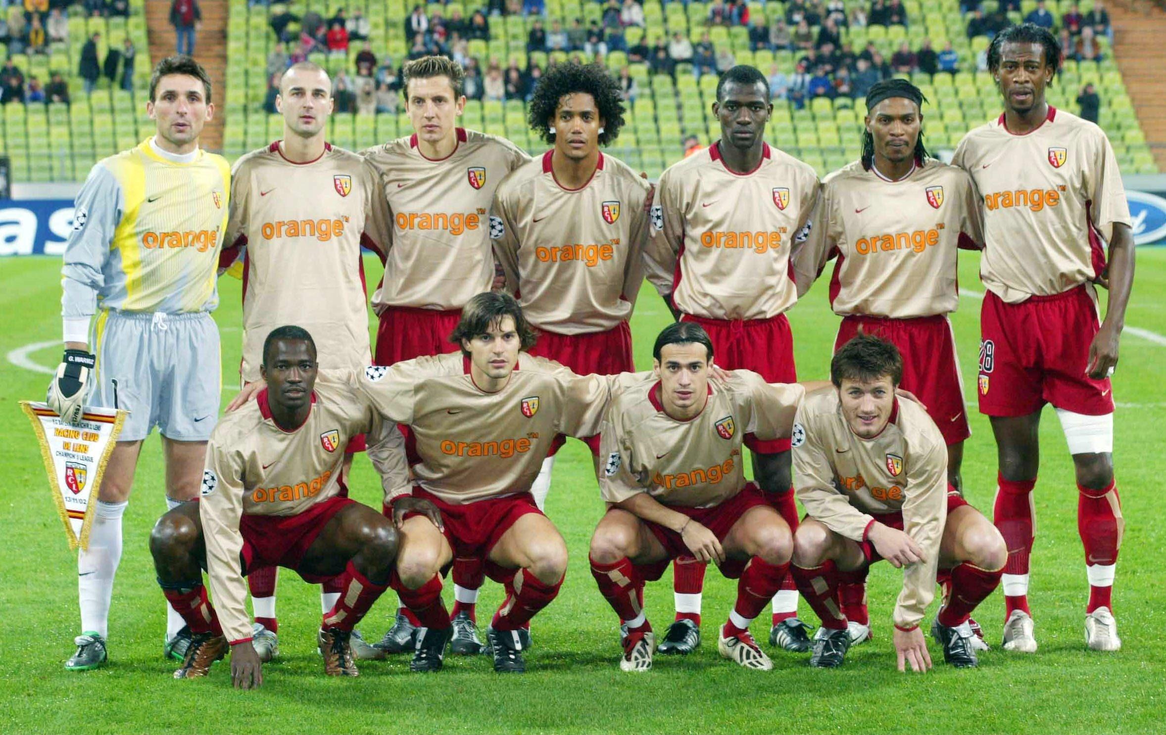 rc lens uefa 2003