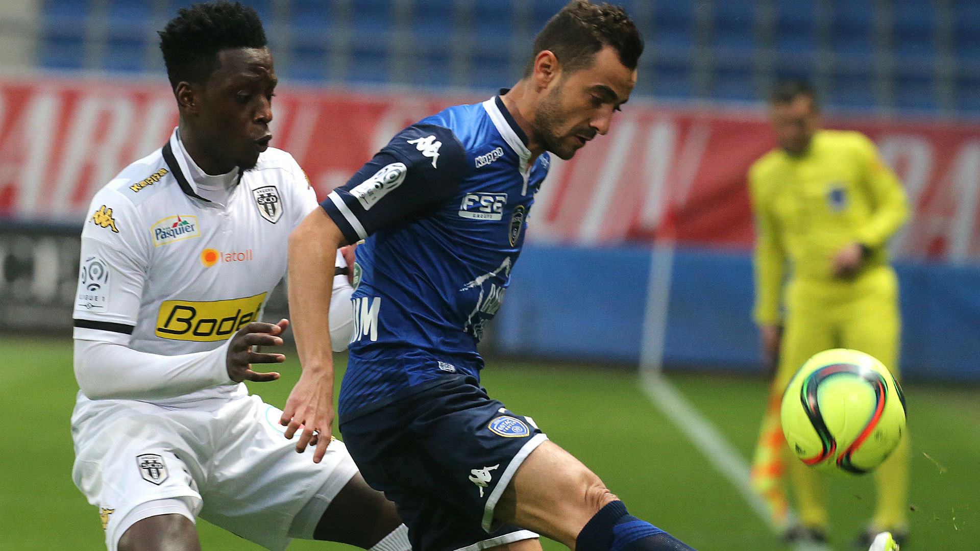 troyes 0 - 1 angers r u00e9sum u00e9 du match 02  04  16 ligue 1