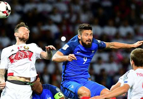 Frustrated France held by Belarus
