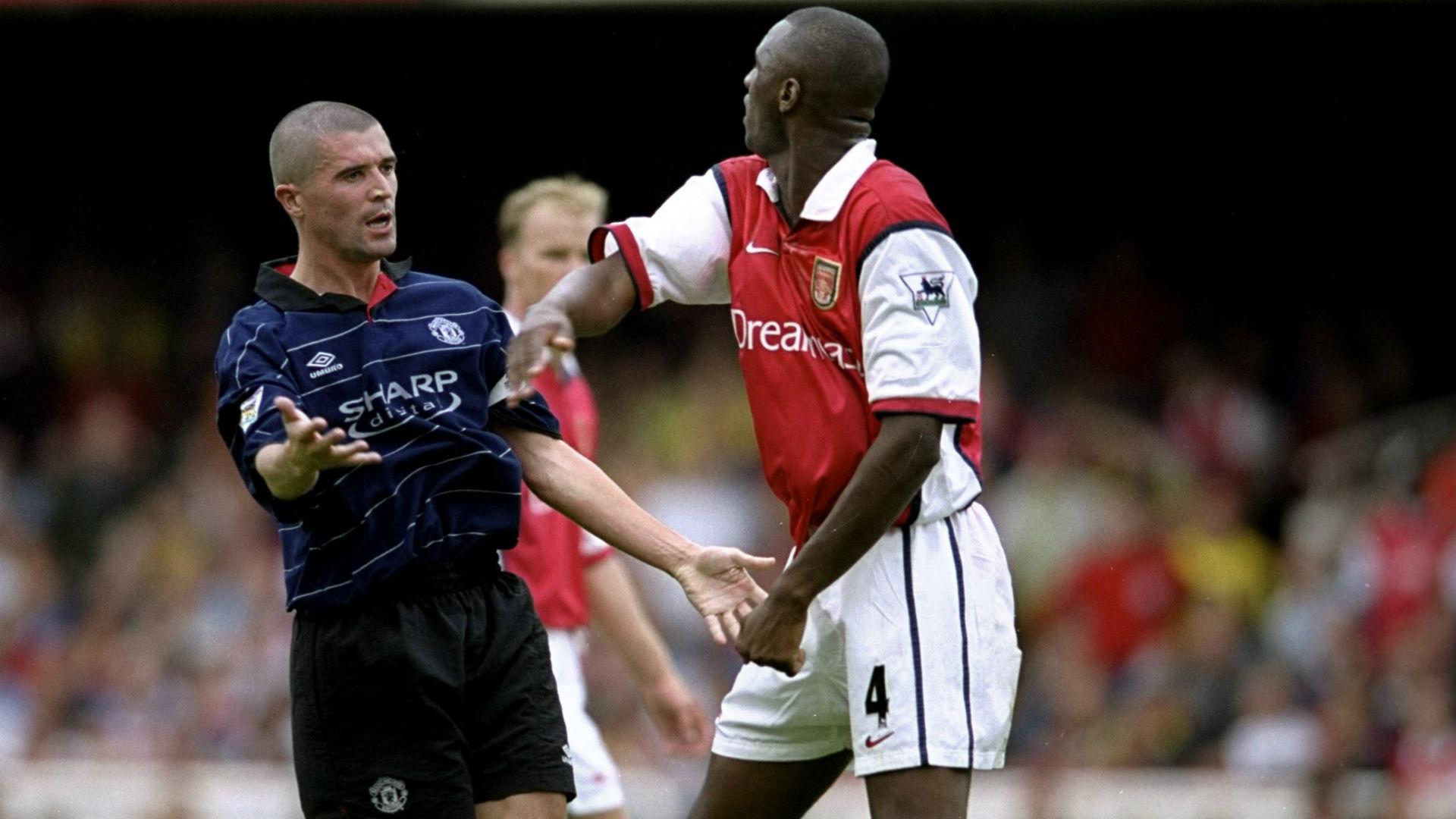 Arsenal Manchester United 1999 Vieira Keane