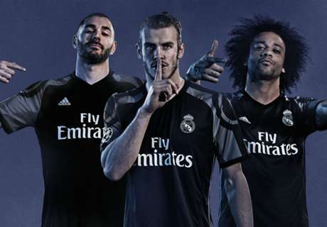 Madrid Munculkan Jersey Ketiganya