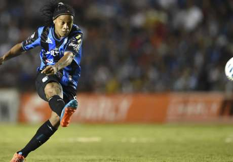 Ronaldinho: My legs are trembling