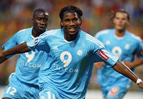 Da Ligue 1 ao estrelato: Drogba