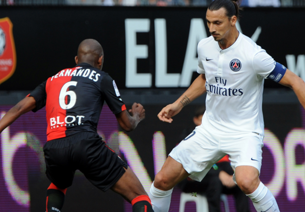 Rennes 1-1 Paris Saint-Germain: Champions drop points again