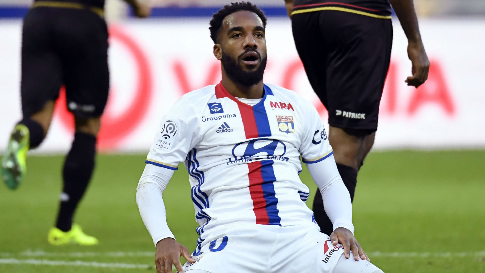 Alexandre Lacazette Lyon Guingamp Ligue 1 22102016