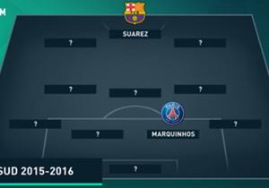 Quels ont été les meilleurs Sud-Américains de la saison ? Du Barça au PSG, du Bayern à Chelsea, découvrez ces joueurs qui composent l'équipe-type de la saison 2015-2016, et même le banc des 5 remplaçants ! Avec les stats OPTA.