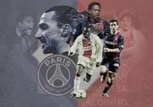 Esta vez, Goal echa un vistazo a los más grandes futbolistas del equipo parisino. Aunque el club galo existe desde 1970, no son pocas las estrellas que lucieron su camiseta
