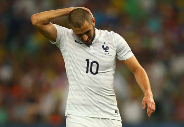 Karim Benzema Ecuador France World Cup 2014 06252014