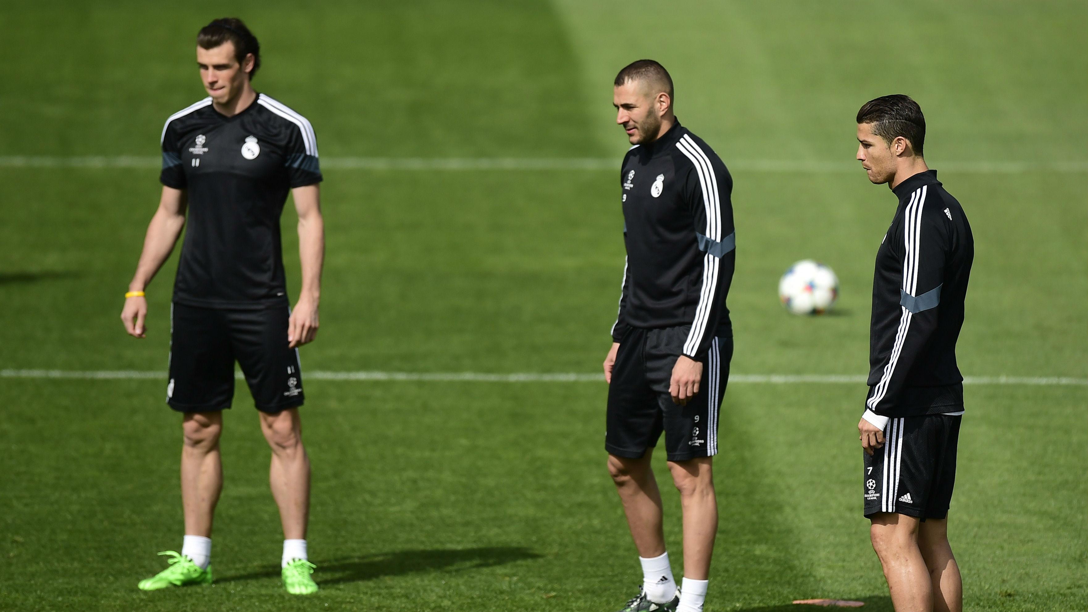 Hat-trick de Cristiano Ronaldo no derby de Madrid