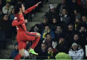 Edinson Cavani Nantes PSG