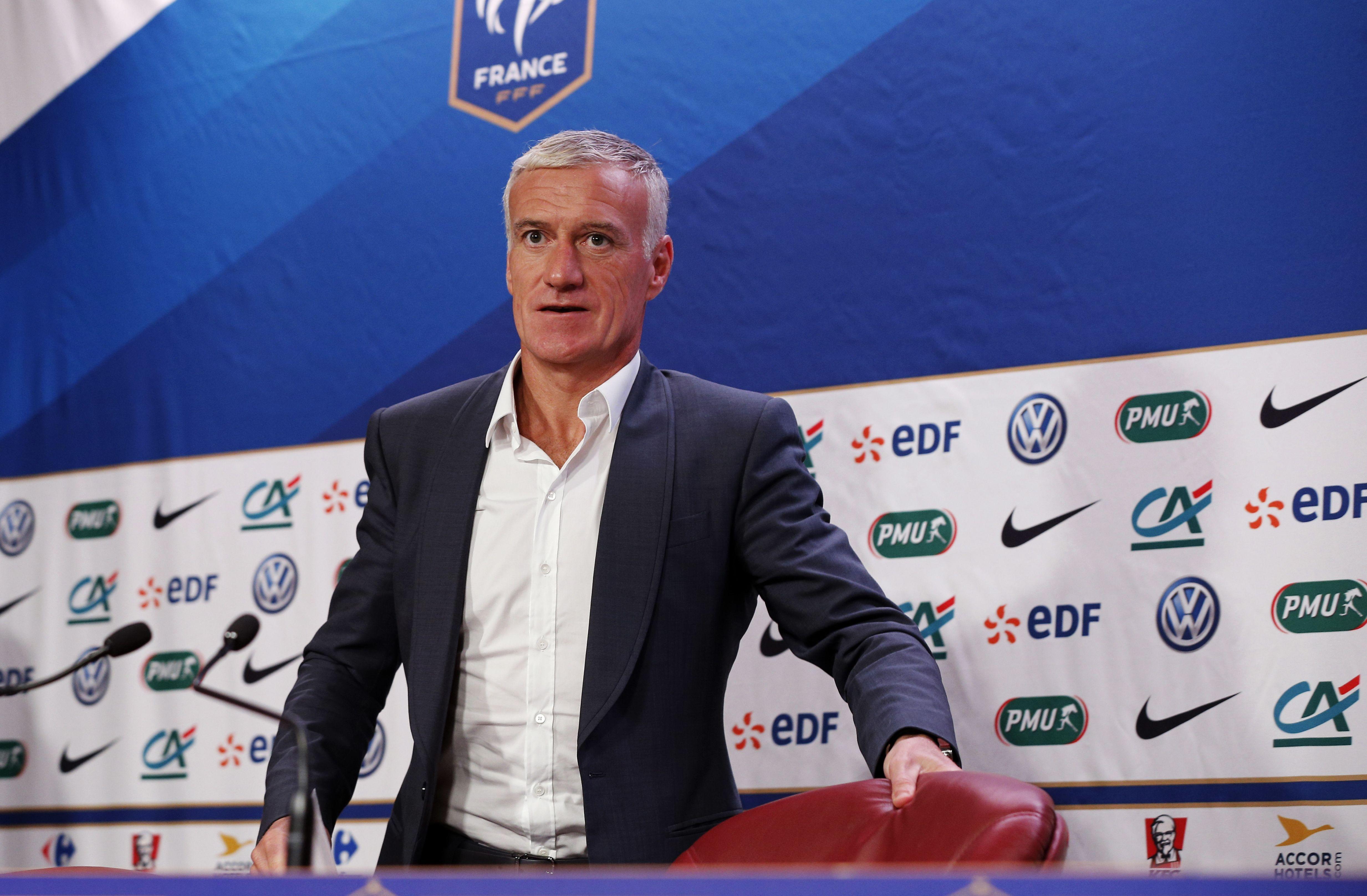 """Équipe de France - Didier Deschamps : """"Pour Mbappé, je n'ai pas les mêmes problématiques que Thomas Tuchel"""""""