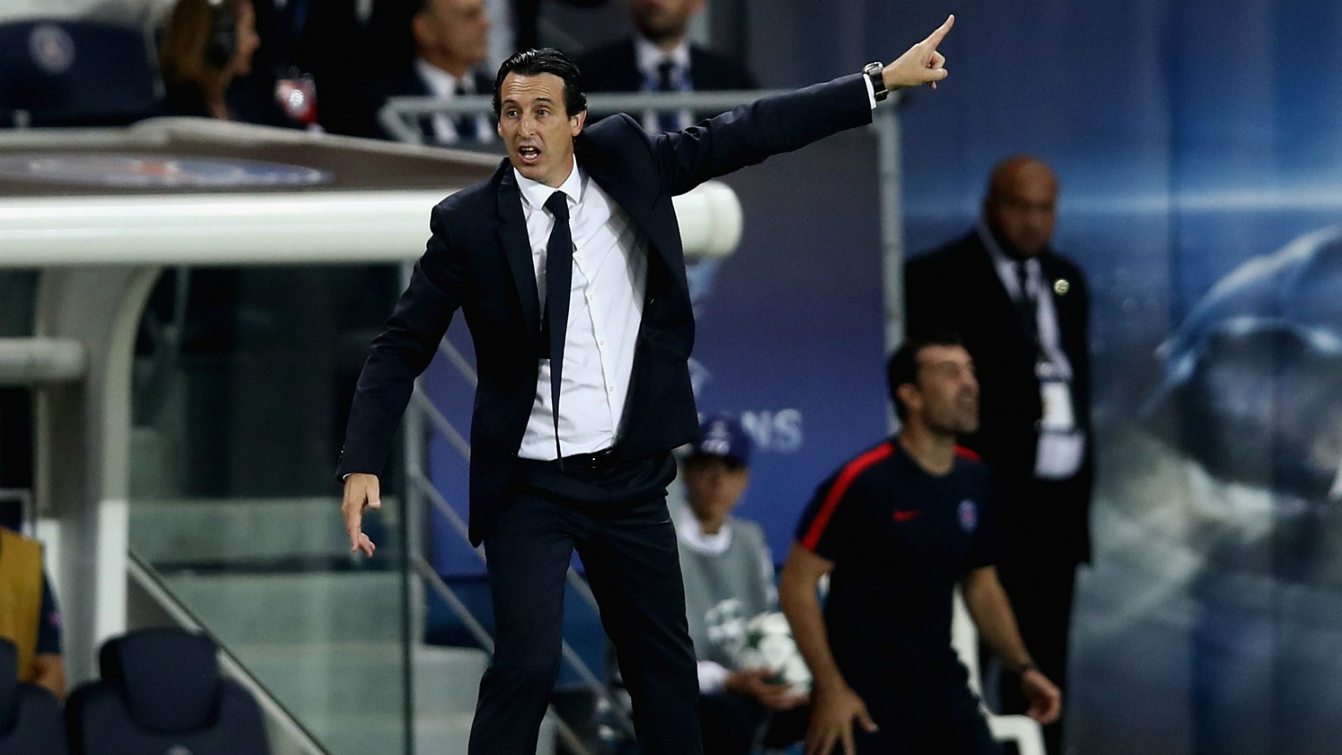Unai Emery PSG Arsenal Champions League 13092016