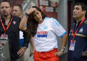 Marion Bartoli, la joueuse de tennis, gagnante de Wimbledon, est une fan absolue de l'OM.