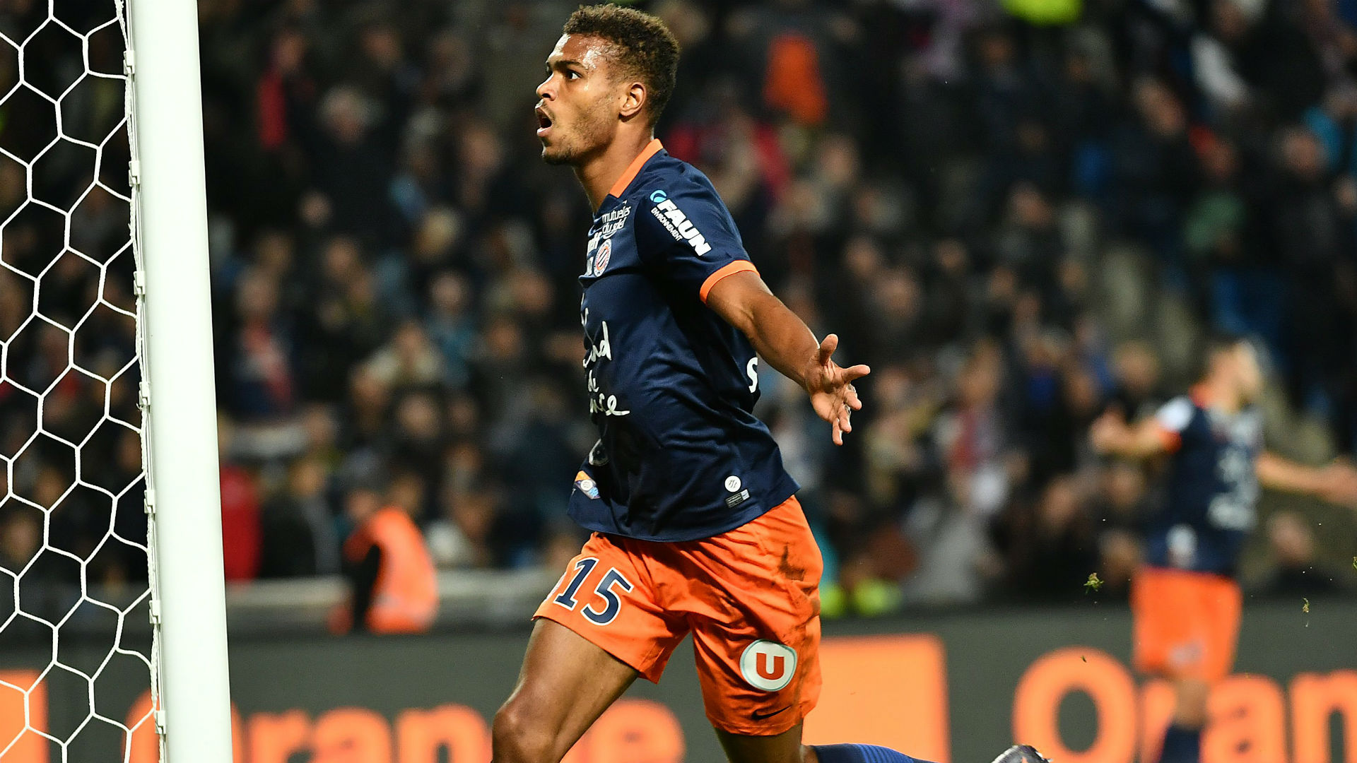 Steve Mounie Montpellier Marseille Ligue 1 04112016