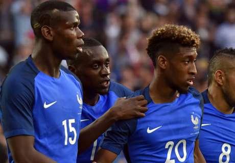 Francia venció con lo justo