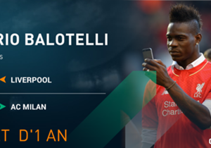 "<p><font color=""#009966""><font size=""3""><b>Mario Balotelli </b></font></font></p> <p><em>Attaquant l 25 ans </em></p> <p><span style=""font-size:medium;""><strong>Liverpool  <span style=""color:#ff9933;""> ——> MILAN AC</span> </strong..."
