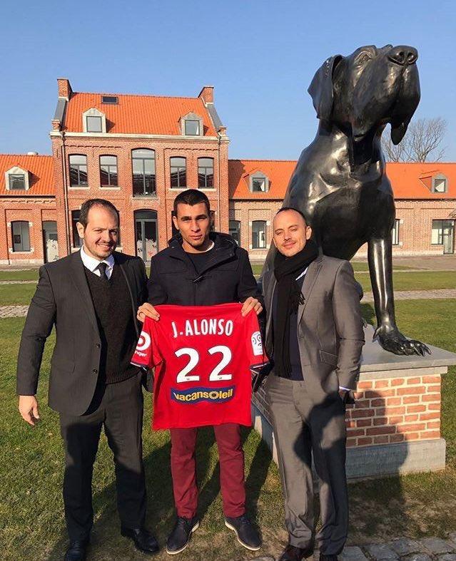 Junior Alonso s'annonce à Lille !