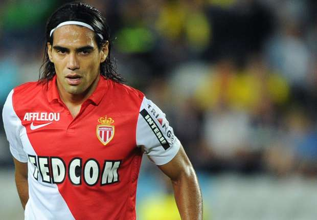 Radamel Falcao Nantes Monaco Ligue 1 08242014