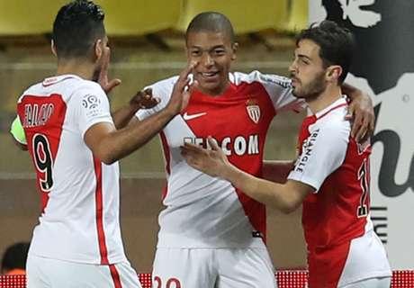 Ligue 1: Monaco feiert Kantersieg