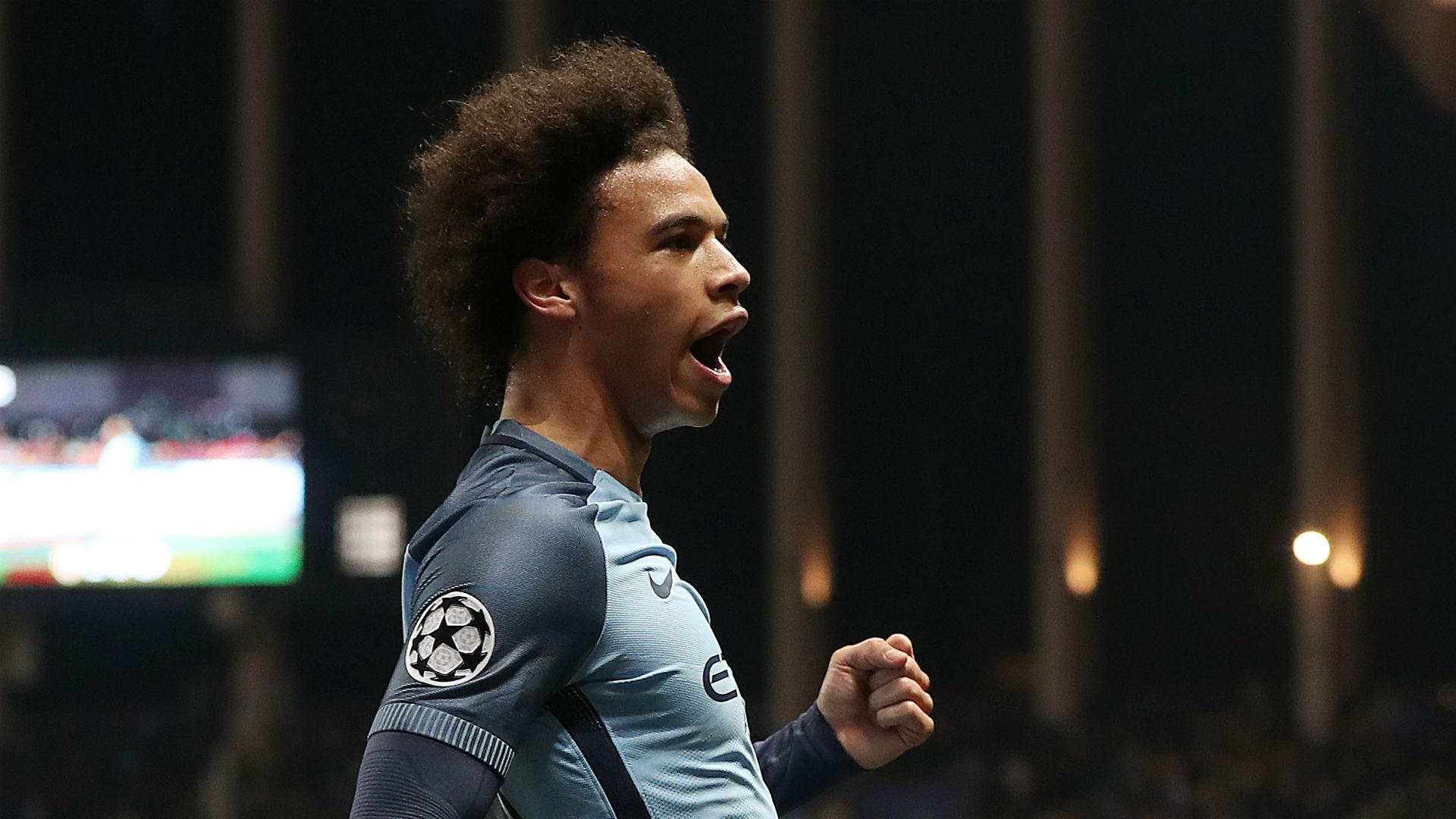 Leroy Sane Monaco Manchester City Champions League 15032017