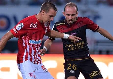 Ligue 1, 3ª - Colpo Guingamp a Nancy