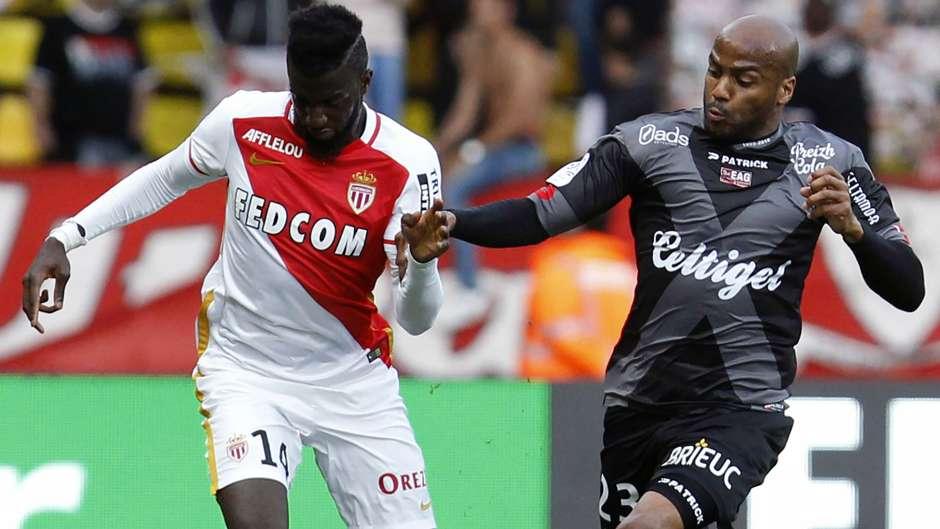 Jimmy Briand Tiemoue Bakayoko Monaco Guingamp Ligue 1 30042016