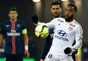 Alexandre Lacazette Lyon Paris SG Ligue 1 28022016