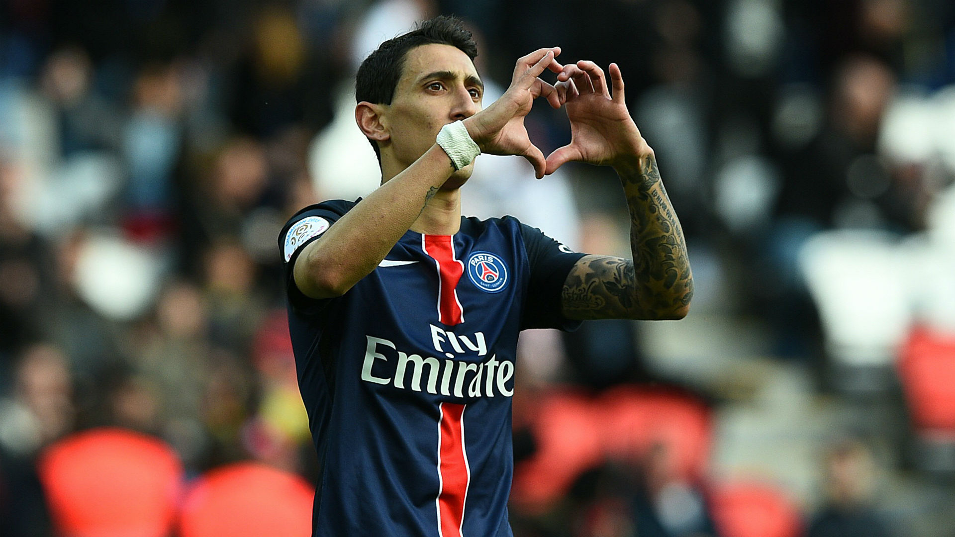 Angel Di Maria Paris SG Caen Ligue 1 16042016