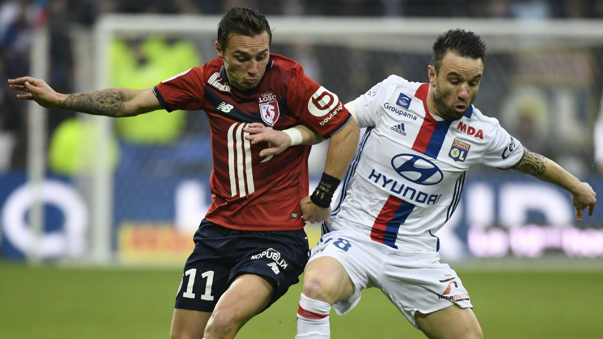 Ligue 1 : Lille s'offre le scalp de Lyon (2-1)