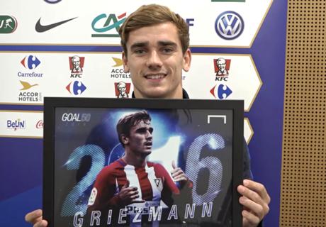 Griezmann aspira a ser el número 1