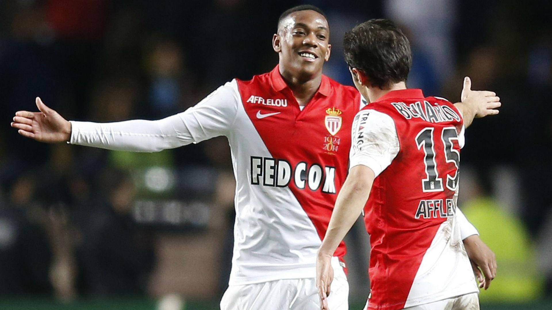 Bernardo Silva Anthony Martial Monaco Marseille Ligue 1