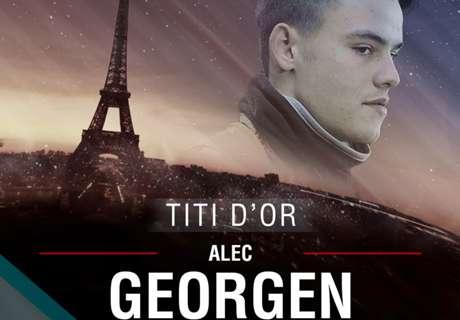 Titi d'Or - Alec Georgen est 3e en 2016 !