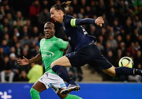 RATINGS: Saint-Etienne 0-2 PSG