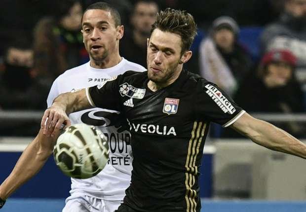 Olympique lyonnais 2 2 guingamp r sum du match 14 12 16 coupe de la ligue - Match paris lyon coupe de la ligue ...