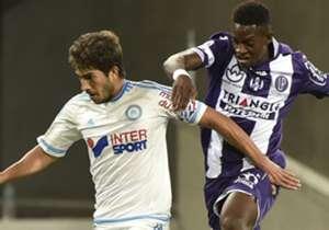 Lucas Silva Jacques-François Moubandje Toulouse Marseille Ligue 1 23092015