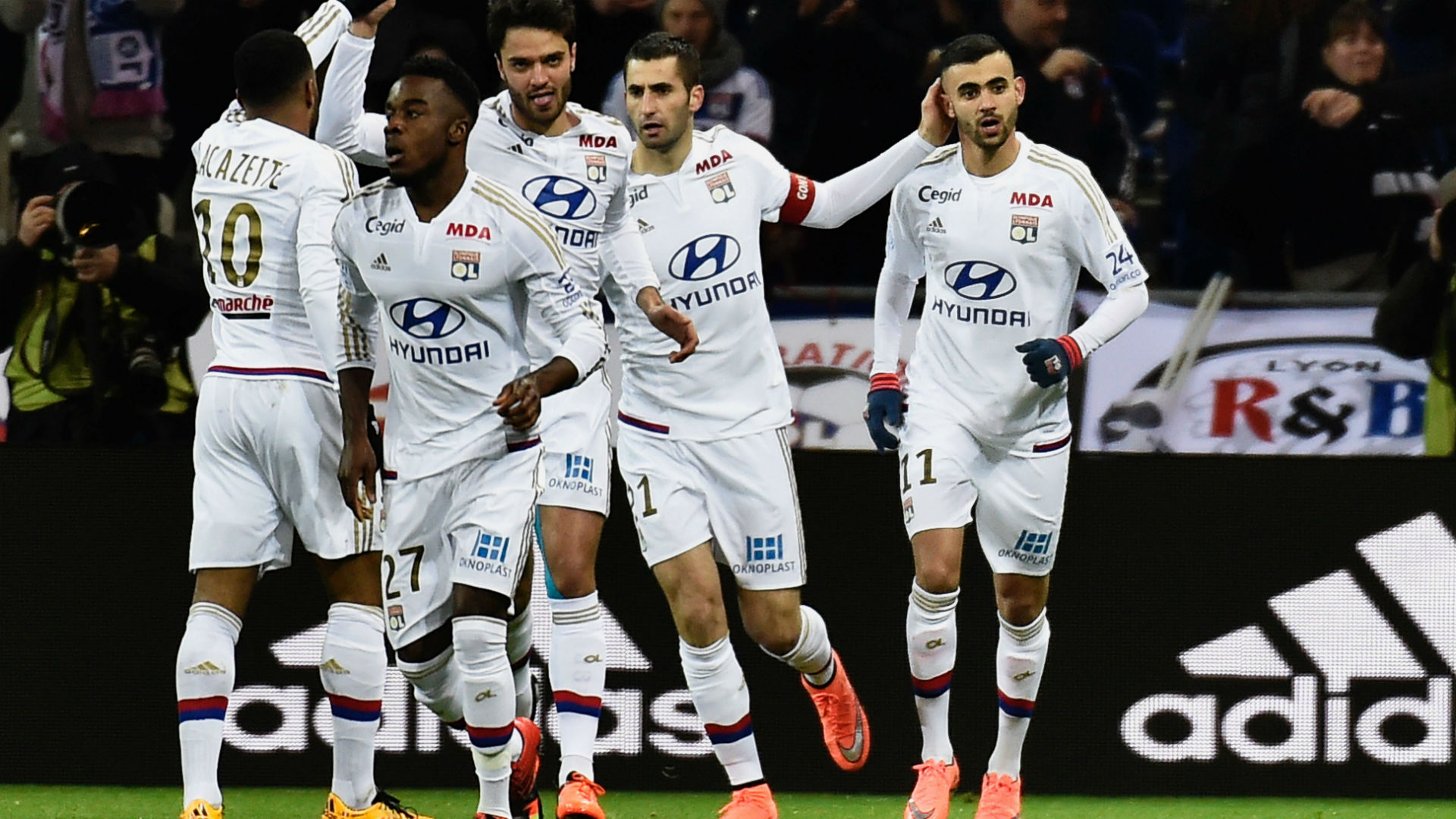 Video: Olympique Lyon vs Guingamp
