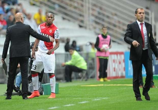 Anthony Martial Leonardo Jardim Nantes Monaco Ligue 1 08242014